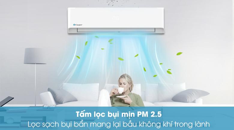 Máy lạnh Casper 1.5 HP LC-12FS32 - Bộ lọc bụi mịn