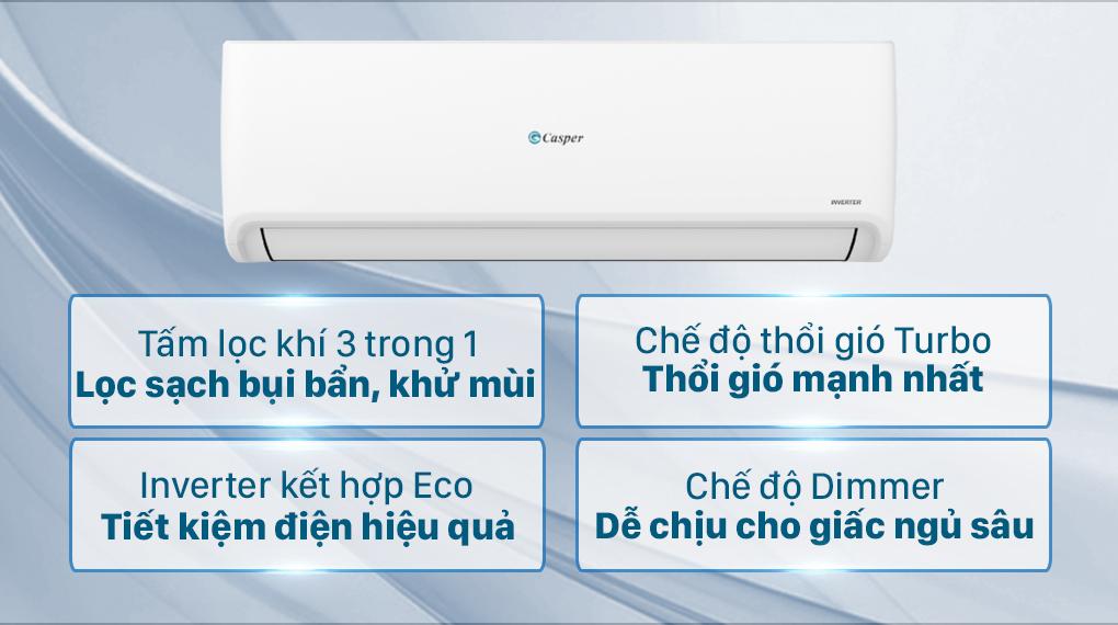Máy lạnh Casper Inverter 1 HP GC-09IS32