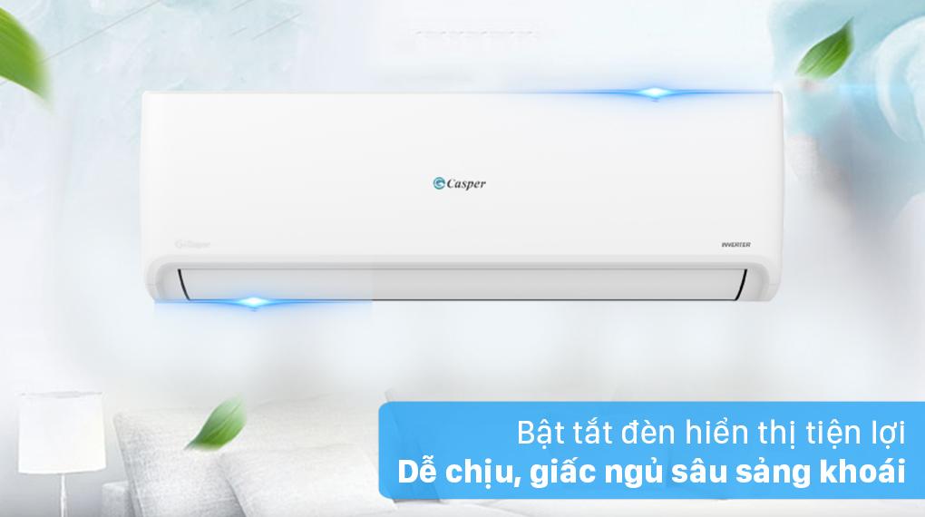 Máy lạnh Casper Inverter 1 HP GC-09IS32 - Bật tắt đèn hiển thị