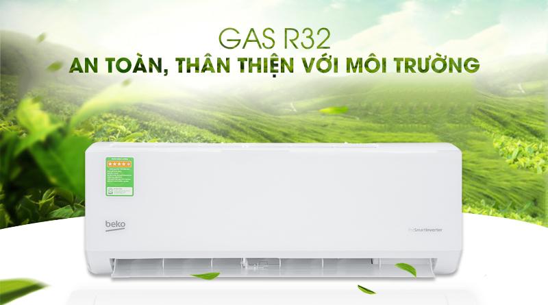 Máy lạnh Beko Inverter 1 HP RSVC09VT - Gas R32