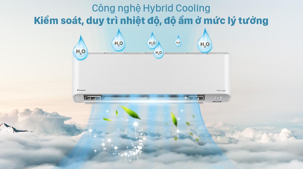 Máy lạnh Daikin Inverter 1 HP FTKZ25VVMV - Công nghệ Hybrid Cooling