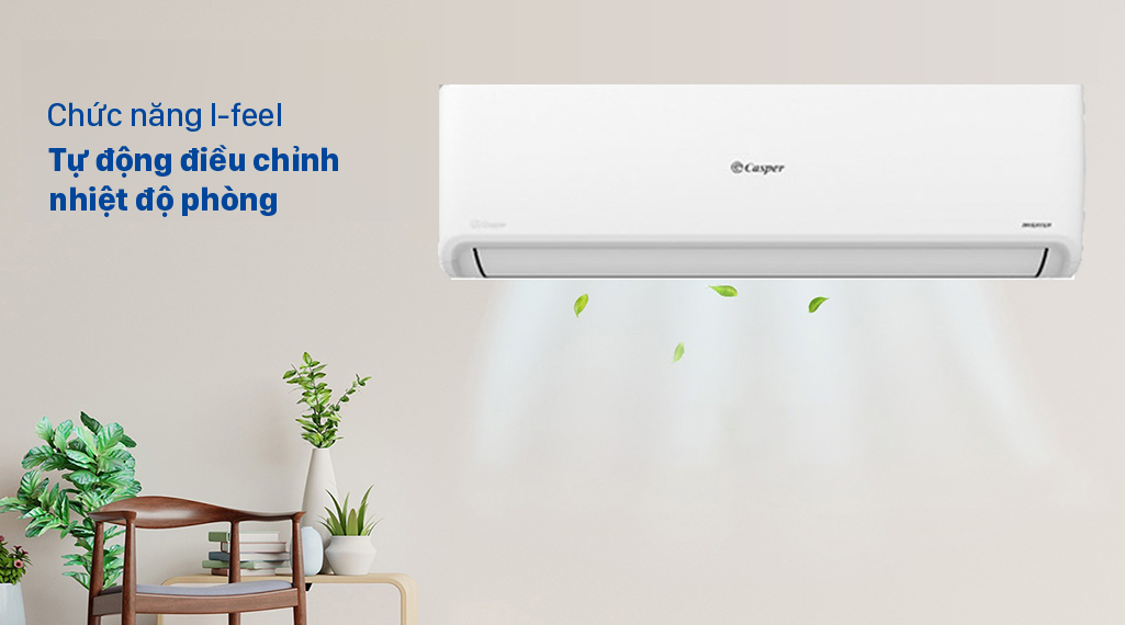 Máy lạnh Casper Inverter 2.5 HP GC-24IS32 - Chế độ I-feel hoạt động thông minh