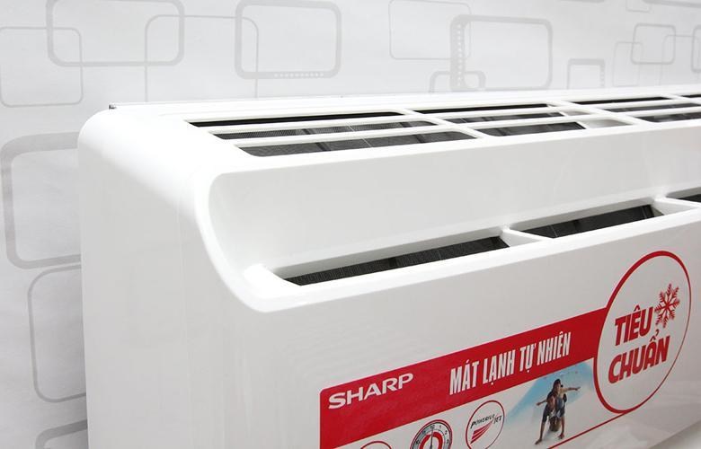 Cửa hút W cho hiệu quả làm lạnh cao