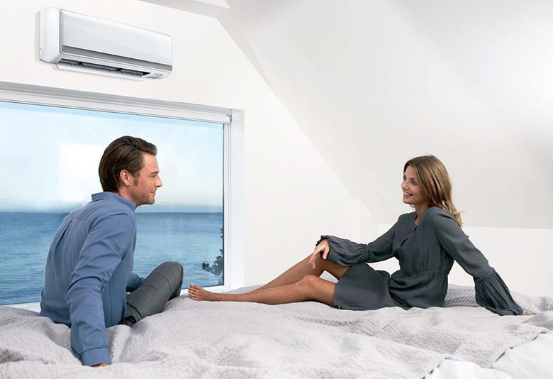 Máy lạnh giúp mang đến bầu không khí mát lạnh