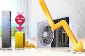 Công nghệ Inverter tiết kiệm tối ưu