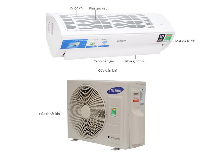 Thông số kỹ thuật Máy lạnh Samsung AR09HVFSBWKNSV 1 Hp