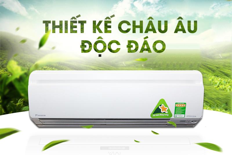 Sở hữu thiết kế sang trọng, máy lạnh Daikin FTKS25GVMV hứa hẹn sẽ đem lại vẻ hiện đại cho căn phòng của bạn