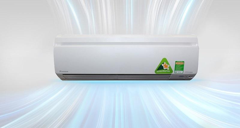 Bên cạnh đó, nhờ sở hữu chế độ làm lạnh nhanh Powerful, máy lạnh Daikin FTKS25GVMV sẽ giúp cho người dùng nhanh chóng được thư giãn