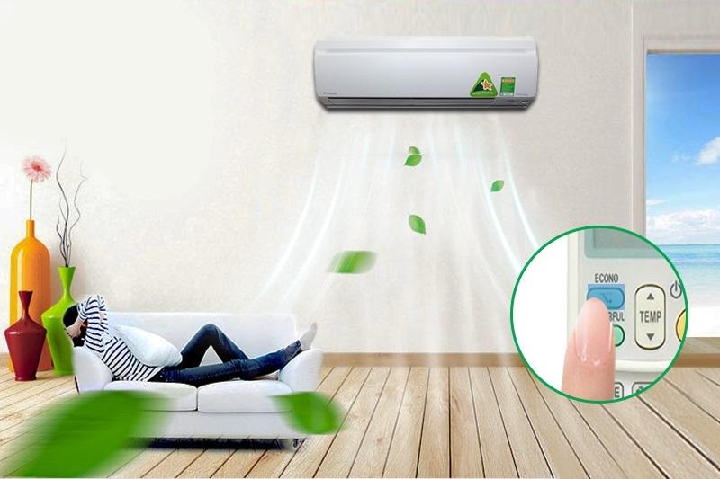 Máy lạnh Daikin FTKS25GVMV sở hữu công nghệ Econo độc đáo