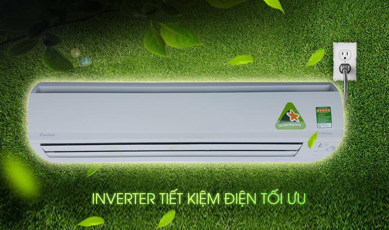 Công nghệ Inverter tiết kiệm điện năng và duy trì nhiệt độ ổn định