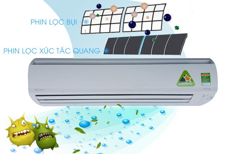 Công nghệ tinh lọc xúc tác quang kháng khuẩn khử mùi