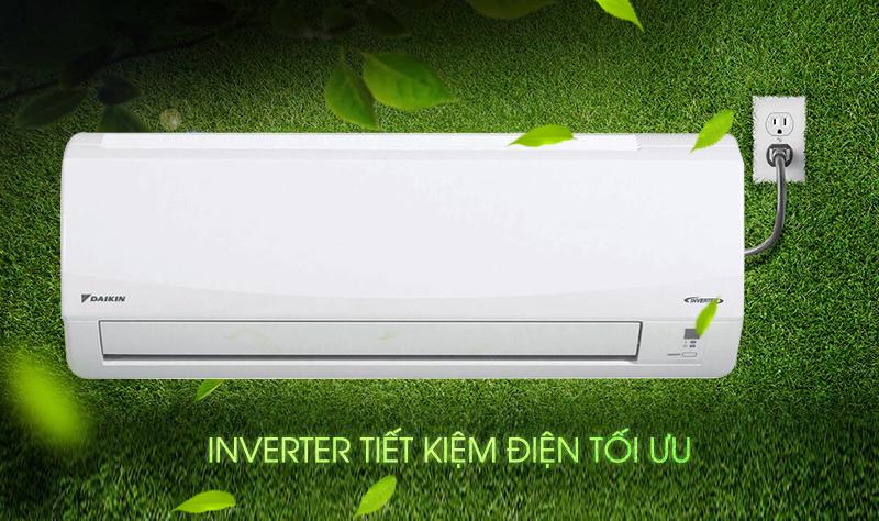 Công nghệ Inverter tiết kiệm điện giúp cho máy lạnh Daikin FTKC50NVMV vừa tiết kiệm tiền điện cho nhà bạn