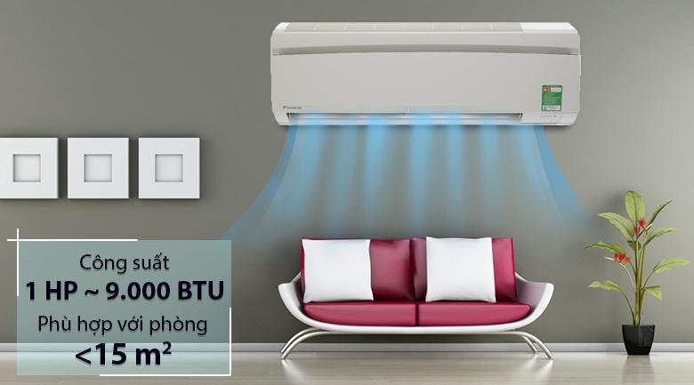 Thiết kế - Máy lạnh Daikin 1 HP FTNE25MV1V9