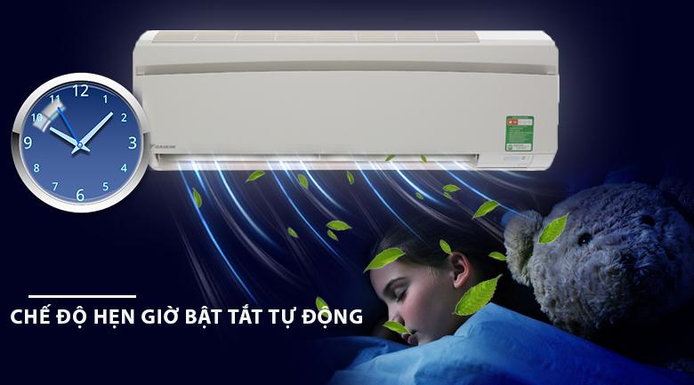 Hẹn giờ - Máy lạnh Daikin 1 HP FTNE25MV1V9