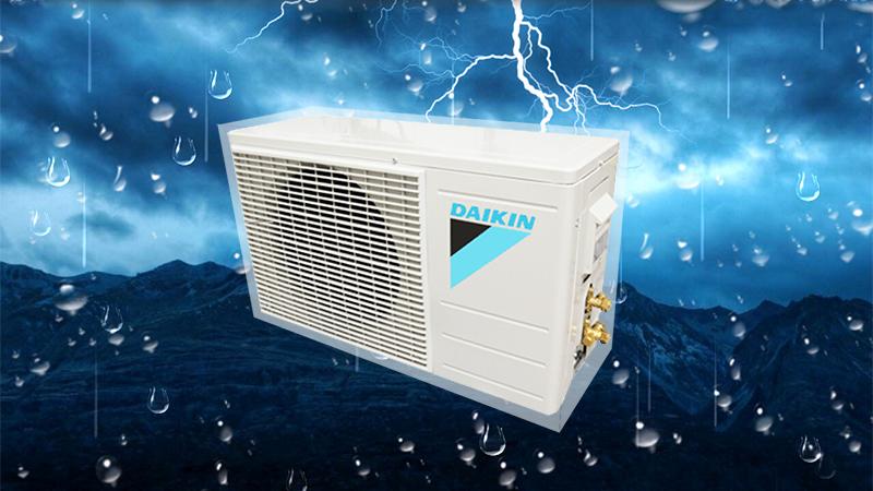 Điều hòa Daikin 1 HP FTNE25MV1V9 có dàn nóng được phủ lớp nhựa Acrylic