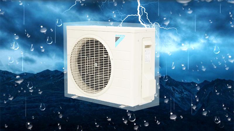 Dàn tản nhiệt của điều hòa Daikin 1.5 HP FTNE35MV1V9 được phủ nhựa Acrylic