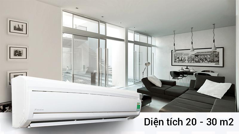 Công suất làm lạnh của điều hòa Daikin FTNE50MV1V lên đến 2 HP