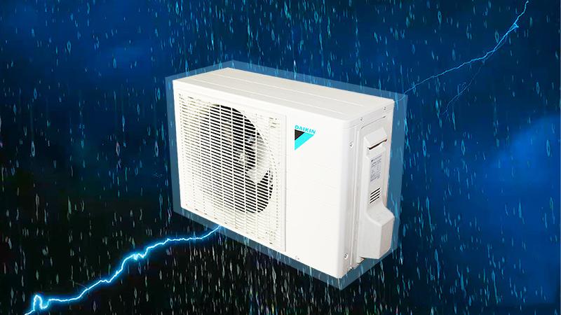 Dàn tản nhiệt của điều hòa Daikin FTNE50MV1V 2 HP có chức năng chống ăn mòn