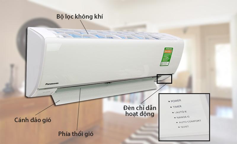Máy lạnh có thiết kế sang trọng, tinh tế