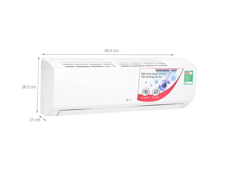 Thông số kỹ thuật Máy lạnh LG 1 HP S09EN2