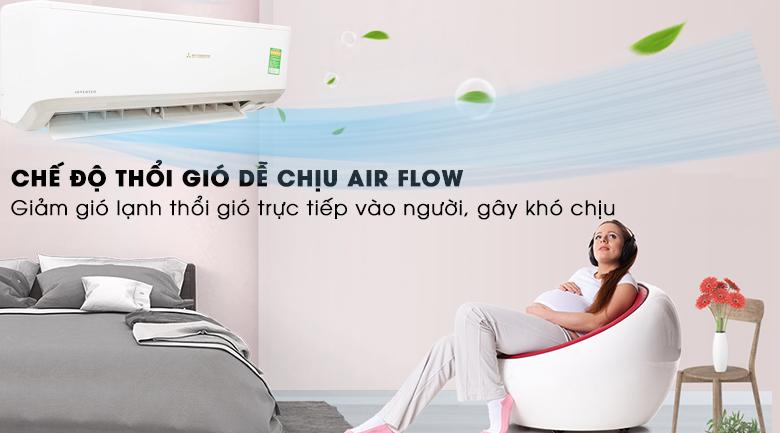 Chế độ thổi gió dễ chịu - Máy lạnh Mitsubishi Heavy Inverter 1.5 HP SRK13YN-S5