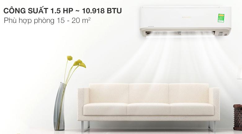 Máy lạnh Mitsubishi Heavy Inverter 1.5 HP SRK13YN-S5