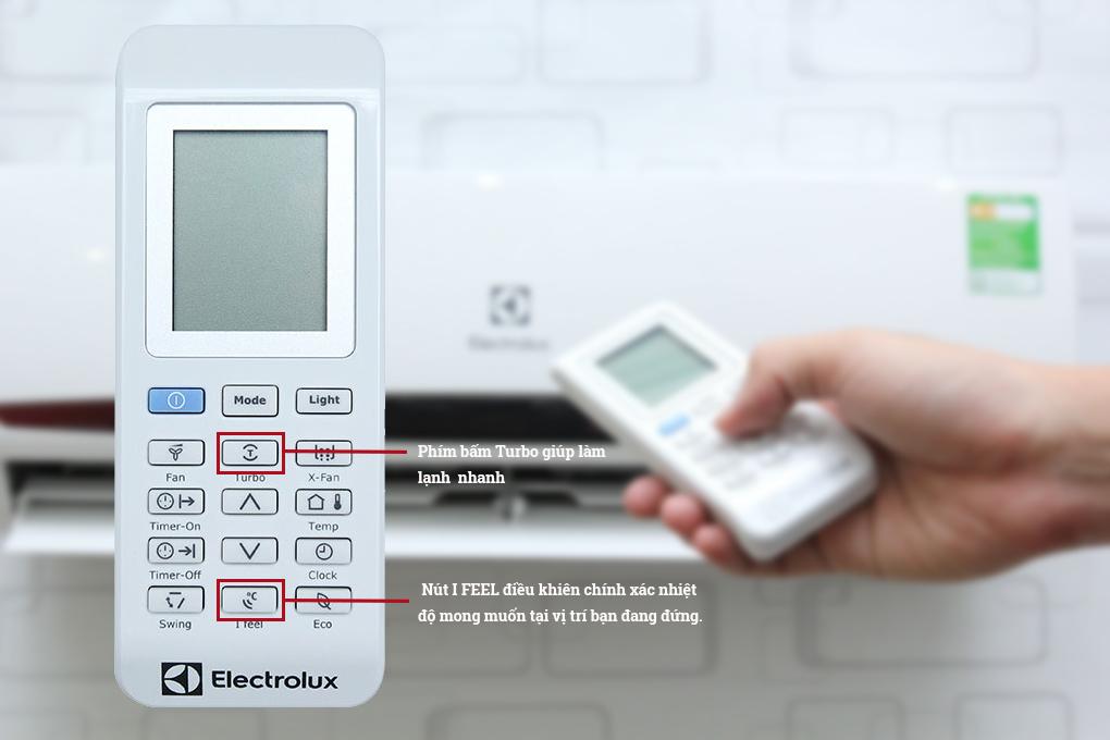 Remote tiện lợi dễ thao tác với màn hình điện tử
