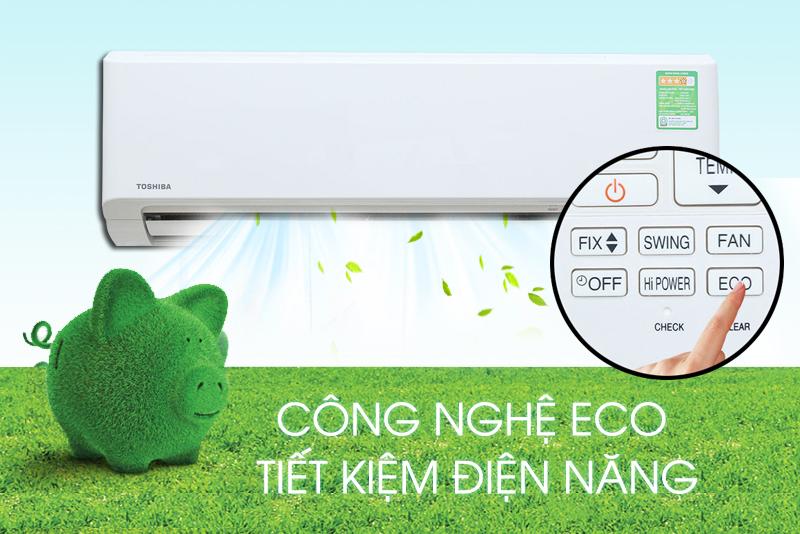 Tính năng Eco tiết kiệm điện năng