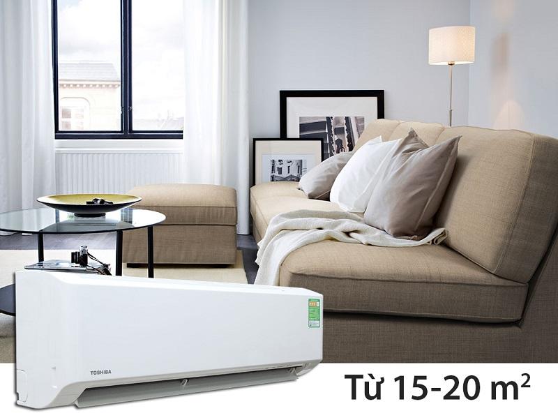 Chứa chế độ Eco Mode được cải tiến độc đáo, điều hòa Toshiba 1.5 HP RAS-H13S3KS-V mang khả năng tiết kiệm điện cao