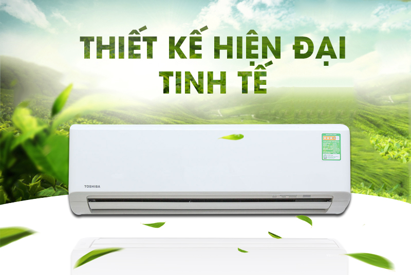 Thiết kế của máy lạnh Toshiba RAS-H13S3KS-V