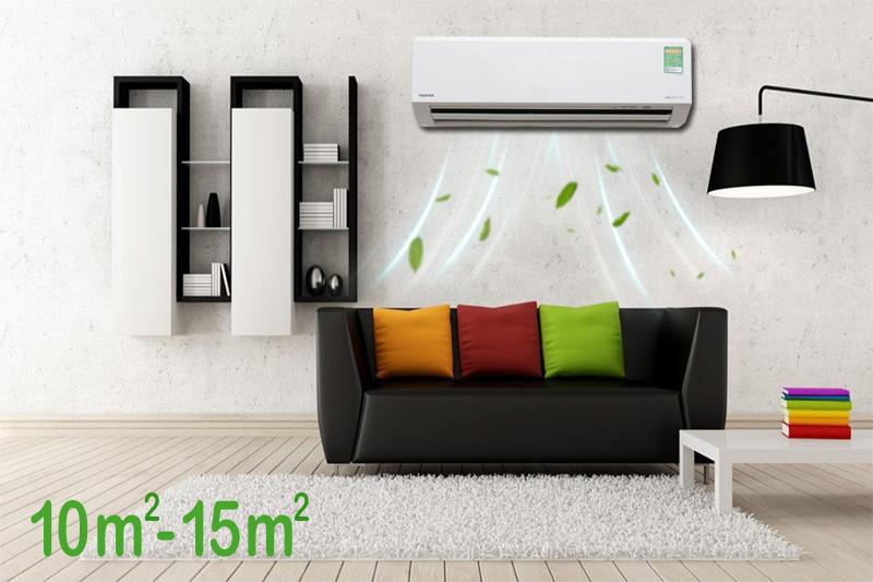 Công suất làm lạnh 1 HP của máy lạnh Toshiba 1 HP RAS-H10G2KCV-V