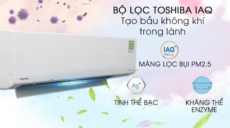 IAQ - Máy lạnh Toshiba Inverter 1.5 HP RAS-H13G2KCV-V
