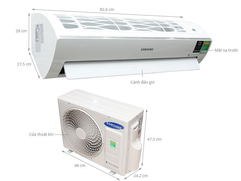 Thông số kỹ thuật Máy lạnh Samsung AR12JVFSBWKNSV 1.5 HP