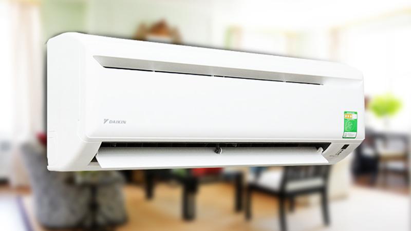 Điều hòa Daikin 9300 BTU FTV25AXV1 có thiết kế bên ngoài đơn giản nhưng rất cứng cáp