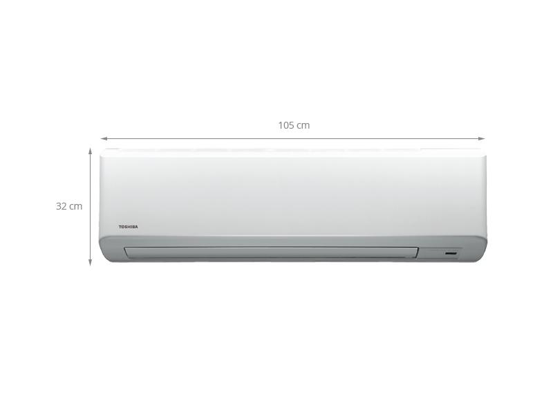 Thông số kỹ thuật Máy lạnh Toshiba RAS-H18S3KS-V 2.0 Hp