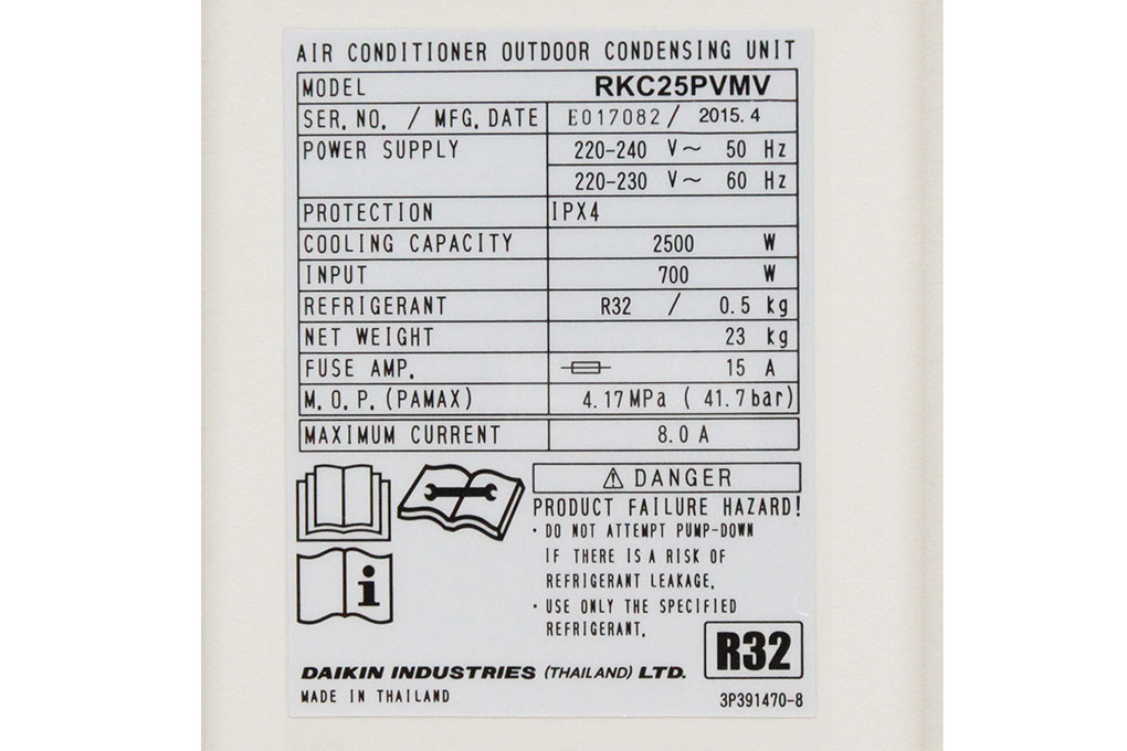 Máy lạnh Daikin 1 HP FTKC25PVMV