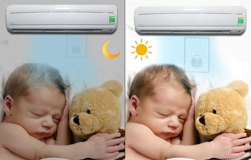 Chức năng chế độ ban đêm giúp cho người dùng có thể ngủ ngon hơn và sâu hơn