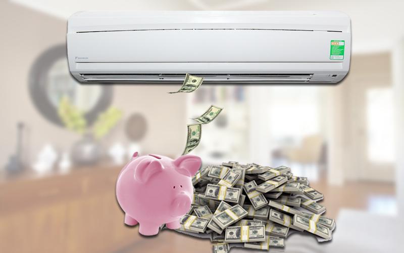 Máy lạnh giúp tiết kiệm chi phí điện năng
