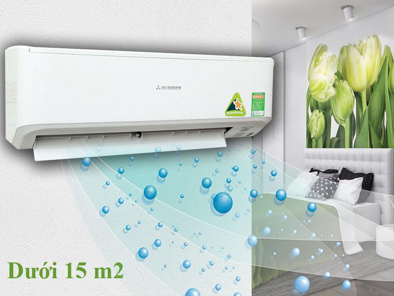 Máy lạnh 1 HP nhỏ gọn của Nhật Bản