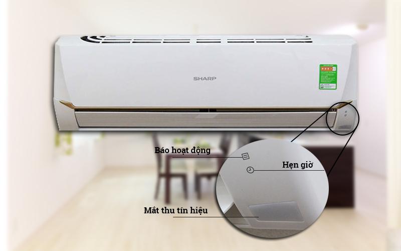 Điều hòa Sharp 1.5 HP AH-A12SEW có thiết kế độc đáo