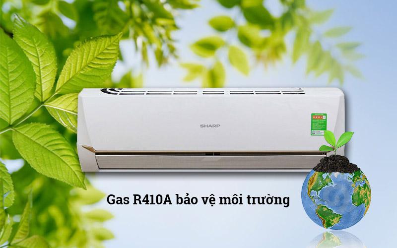 Máy lạnh sử dụng ga R410A tiết kiệm điện và bảo vệ môi trường