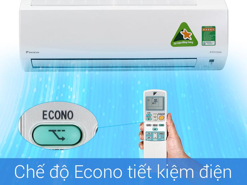 Chế độ tiệt kiệm điện Econo