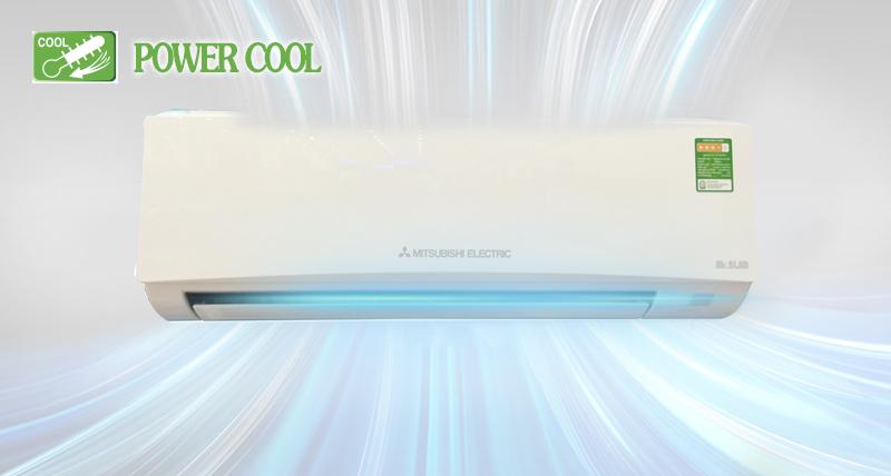 Power Cool làm lạnh nhanh và bền bỉ