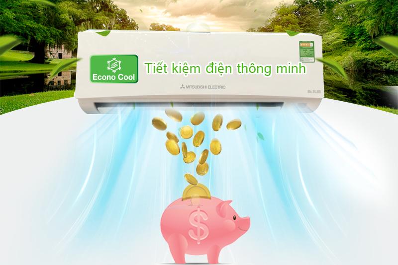 Chế độ Econo Cool tiết kiệm điện năng