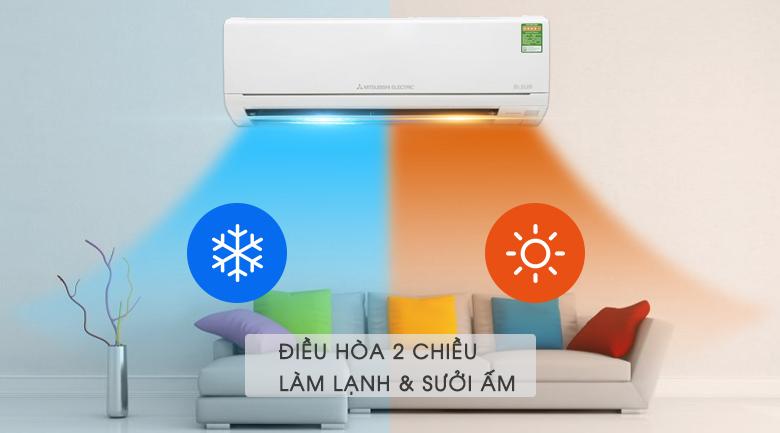 Máy điều hòa Inverter hai chiều tiết kiệm điện