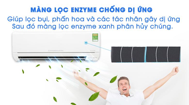Màng lọc Enzyme - Điều hòa 2 chiều Mitsubishi Electric Inverter MSZ-HL25VA