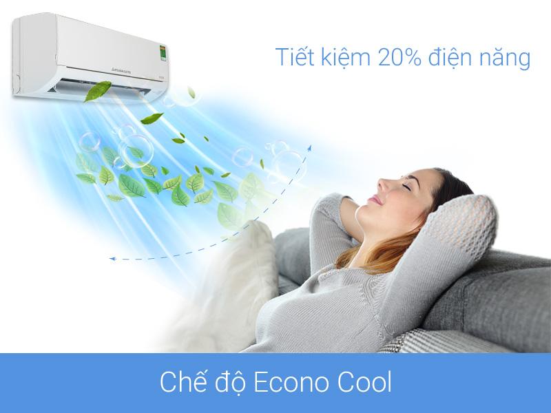 Chế độ Econo Cool tiết kiệm điện