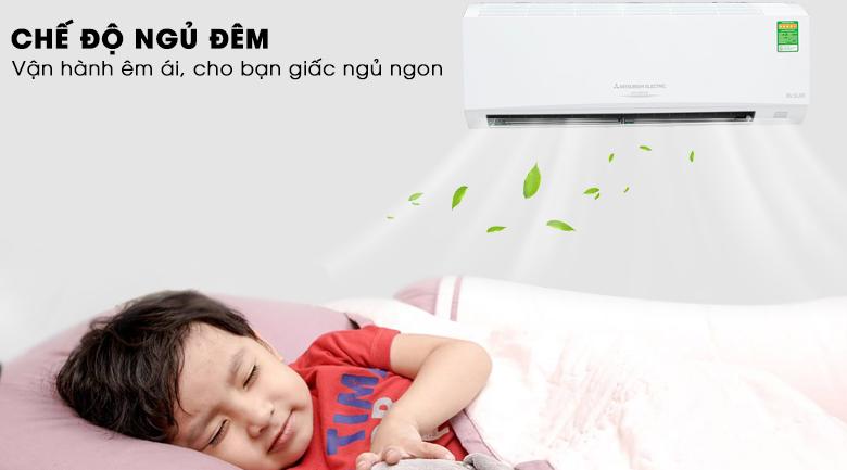 Chế độ ngủ đêm - Máy lạnh Mitsubishi Electric Inverter 1.5 HP MSY GH13VA