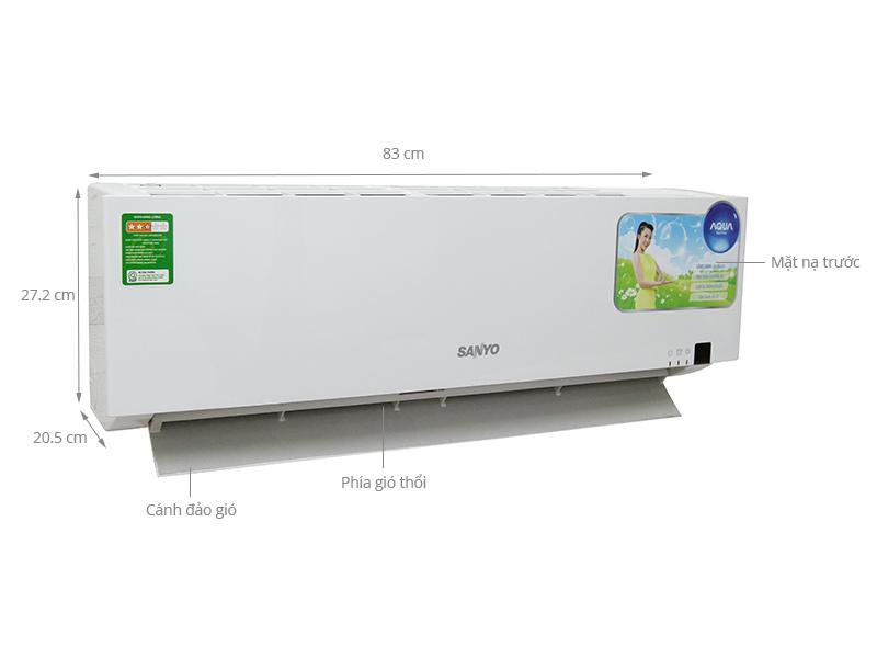 Thông số kỹ thuật Máy lạnh Sanyo 1 HP SAP- KC9ZGES