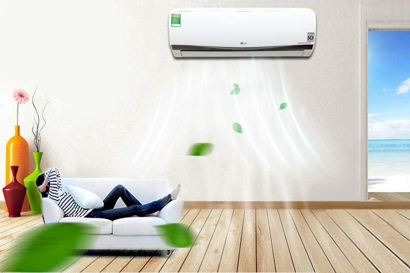 Bên cạnh đó, công nghệ Inverter còn mang đến khả năng làm lạnh ổn định, cho nhiệt độ phòng luôn được thoải mái